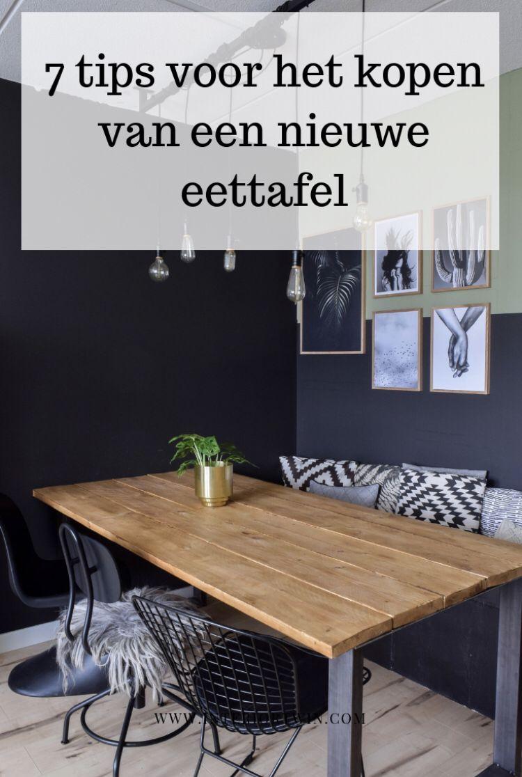 Vierkante Eettafel Kopen.7 Tips Voor Het Kopen Van Een Nieuwe Eettafel Eettafel