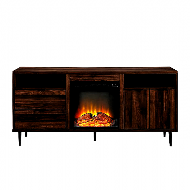 Forest Gate™ Modern Fireplace TV Stand Console Bed Bath
