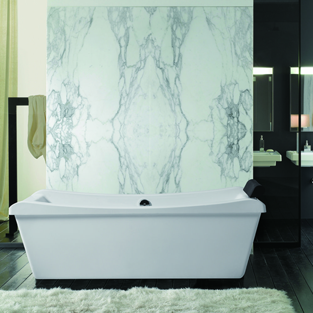 The Layla Freestanding Tub is the perfect addition to any bathroom ...