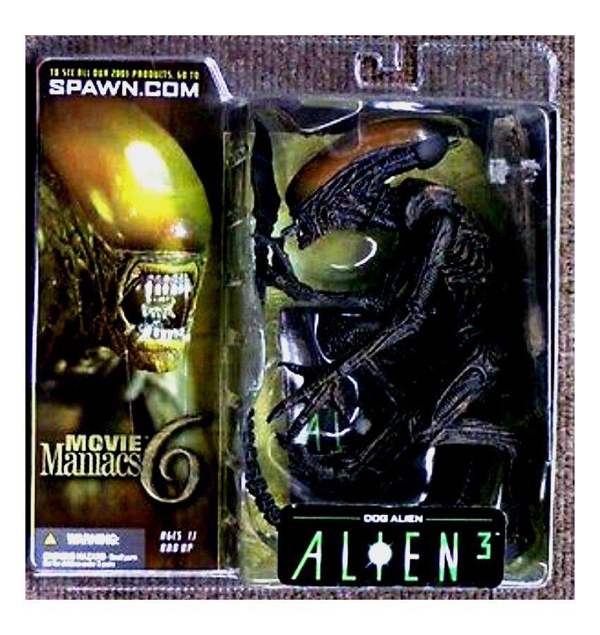 McFarlane Movie Maniacs 6 Alien 3 Dog Alien Action Figure