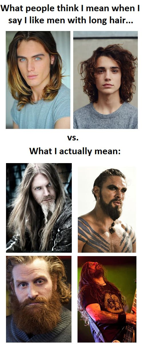 long hair meme   Funny Pictures
