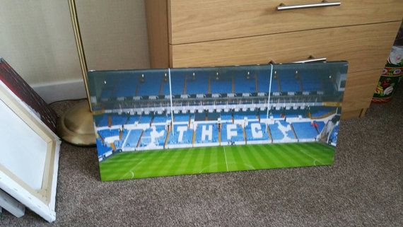 White Hart Lane Canvas Canvas is 28x13 inch in Size Only 1 due to be made for this item