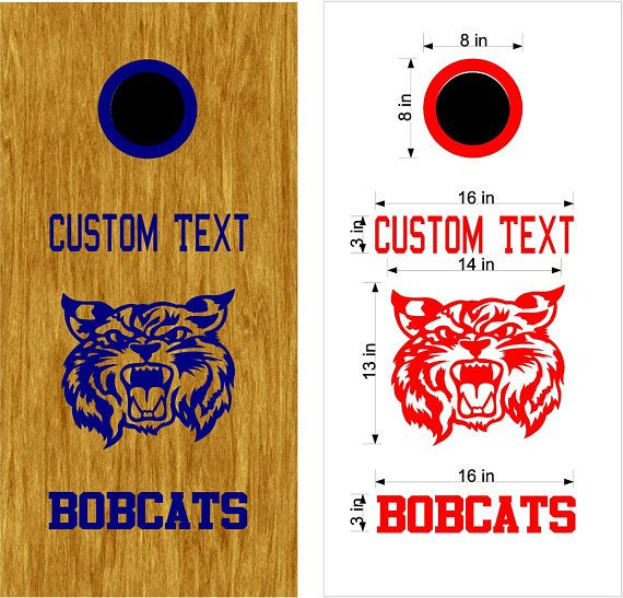 Custom Baggo Decals