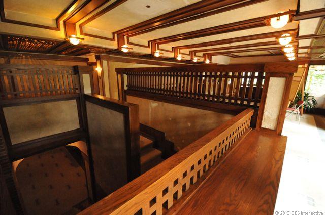 Robie house interior tour