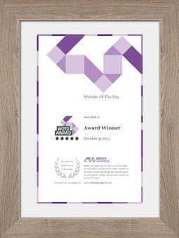 Merlins Mustache LAB Designed By Bremen Digital Creative Certificate Design Award Certificates Print