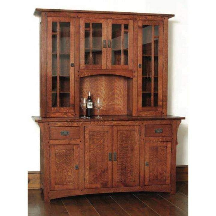 Kitchen Cabinet Woodworking Plans: Arts & Crafts Wine Cabinet Downloadable Plan