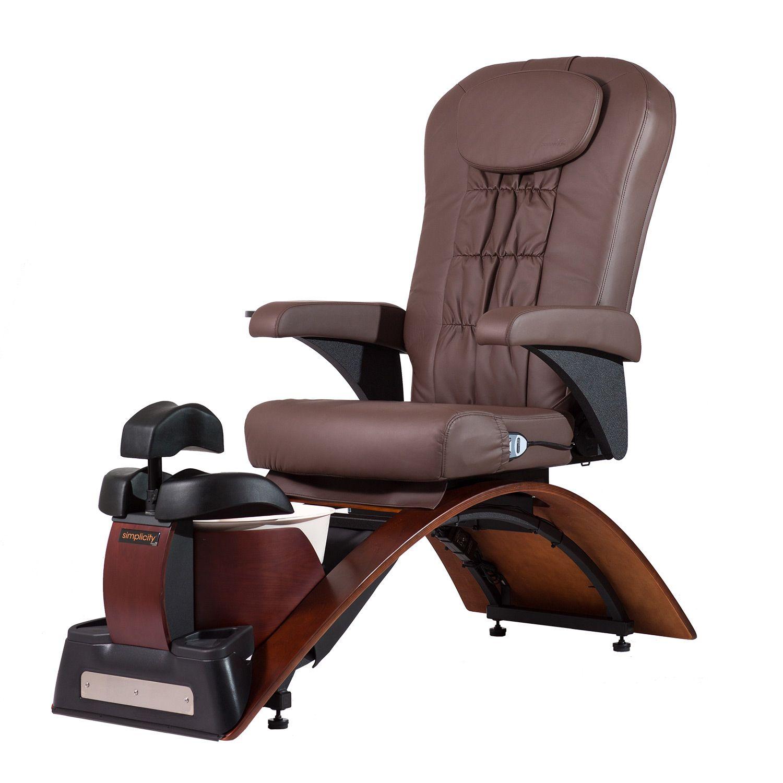 Continuum Simplicity SE No Plumbing Pedicure Spa Chair alternative