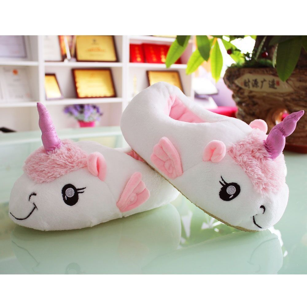 Missley Bedroom Sheep Slippers Cute Unicorn Slippers Cartoon Sheep Plush Unicorn Slippers Puppet Theaters Amazon Cana Unicorn Slippers Cute Unicorn Slippers