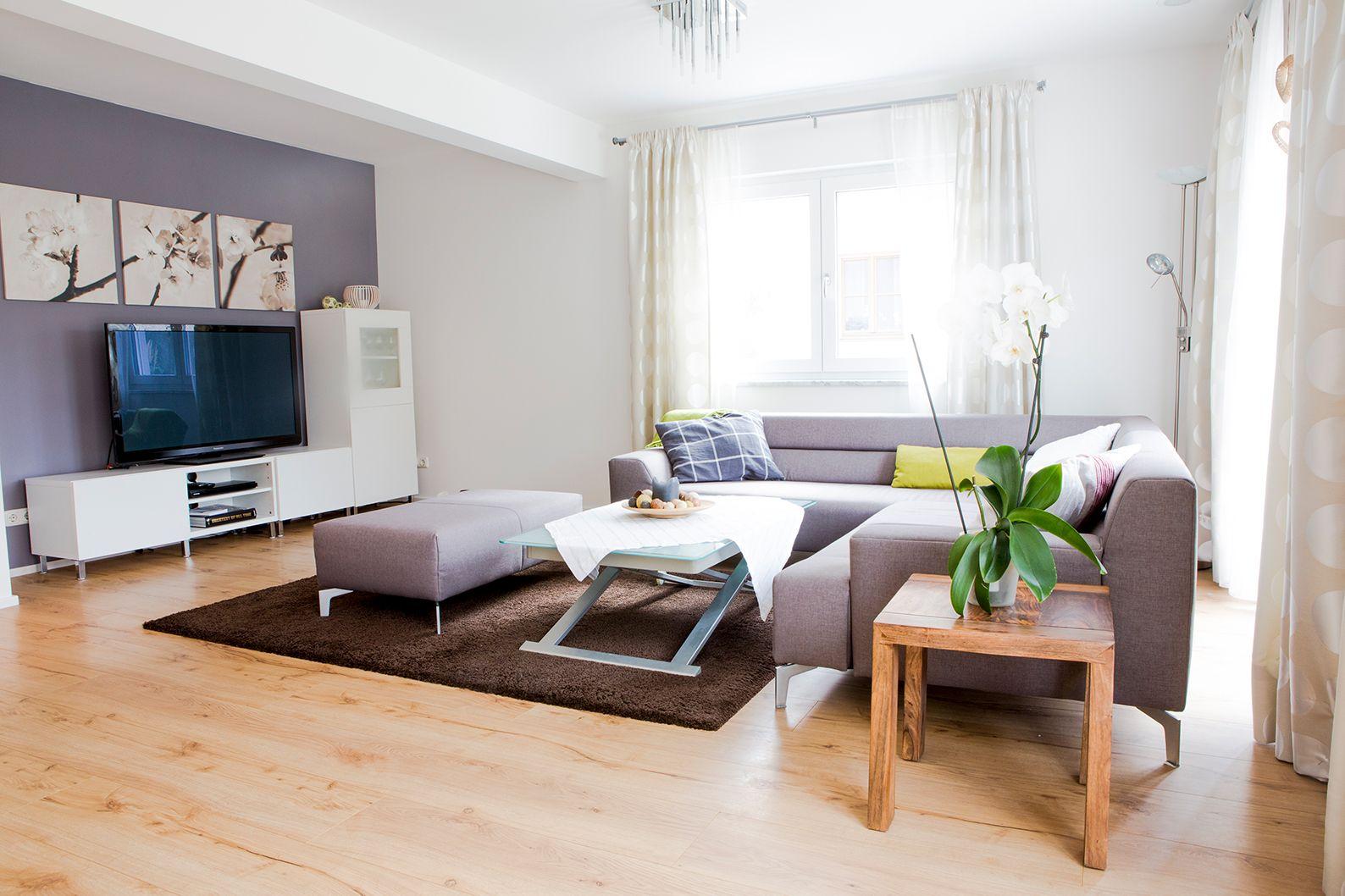 Haus Armeria FischerHaus Fertighaus Wohnzimmer #Wohnzimmer #Sofa #modern  #hell #Licht #
