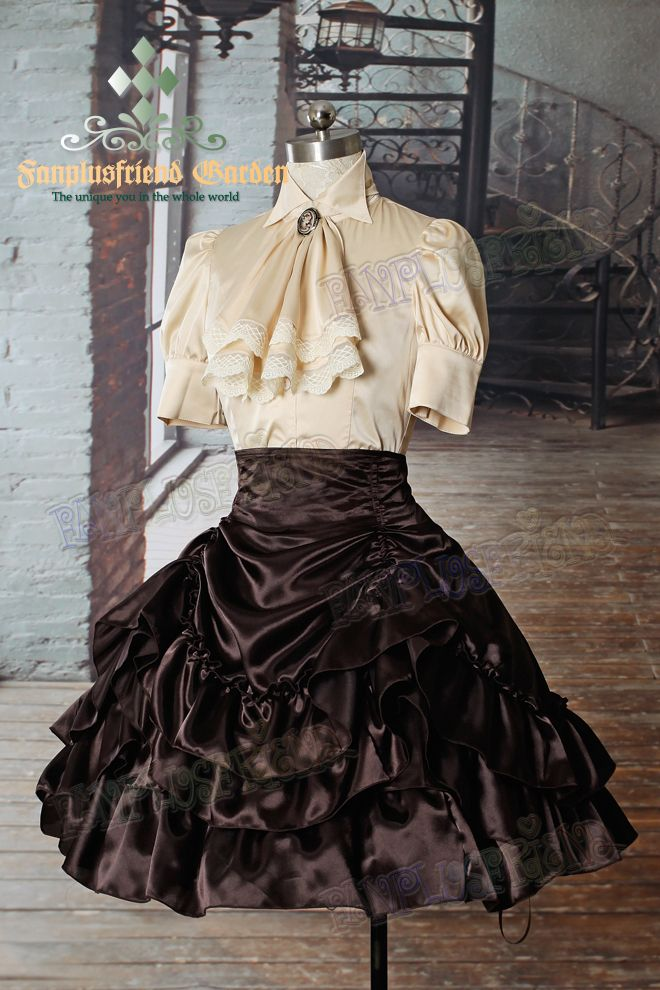 fanplusfriend - Belle Epoque Elegant Gothic Aristocrat 4way Changeable Tiered Knee Length Skirt*Instant Shipping, C$76.44 (http://www.fanplusfriend.com/belle-epoque-elegant-gothic-aristocrat-4way-changeable-tiered-knee-length-skirt-instant-shipping/)