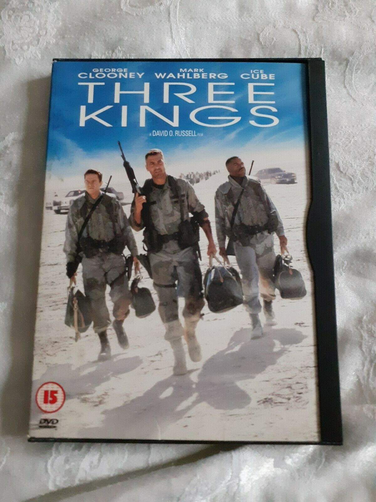 Details About Dvd Three Kings Cert 15 George Clooney Movie Nights