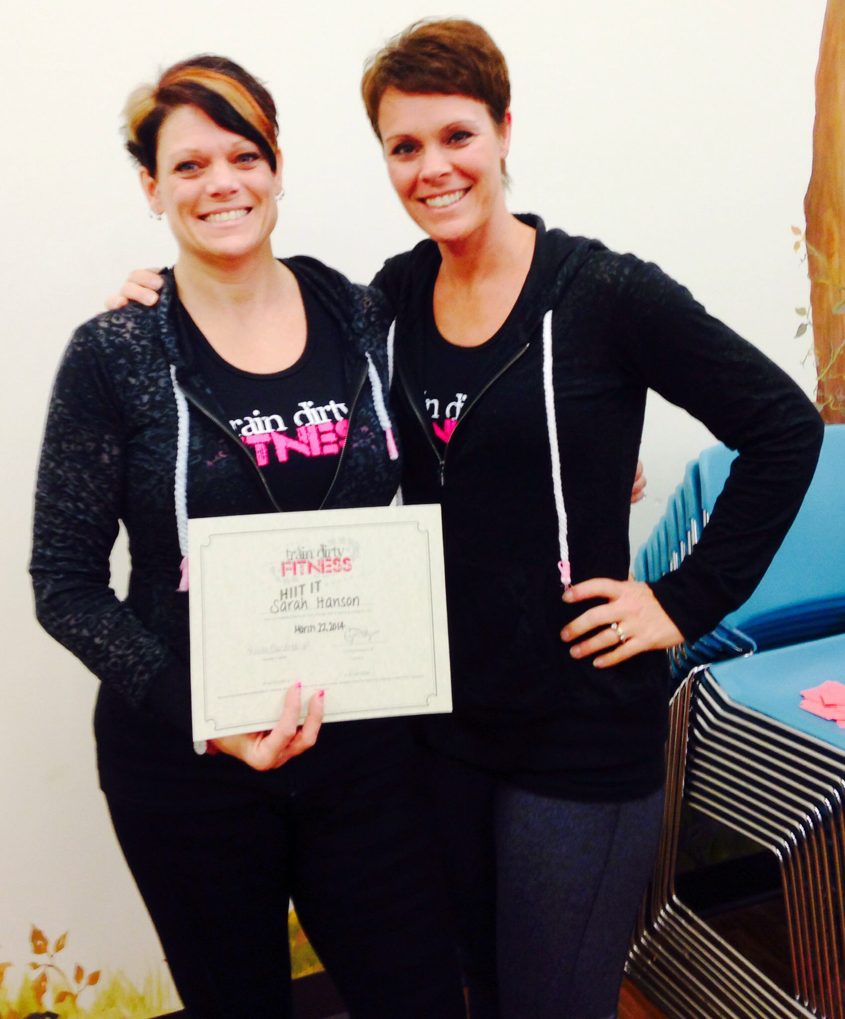 Tdf Hiit It Certification 3 22 2014 Shawna My Awesome Tdf Sister