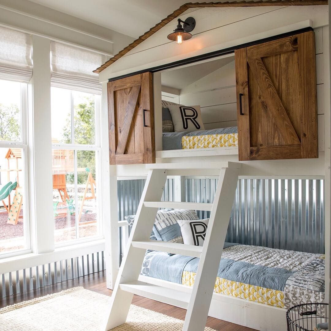 Magnolia On Instagram This Custom Built Bunk Bed For The