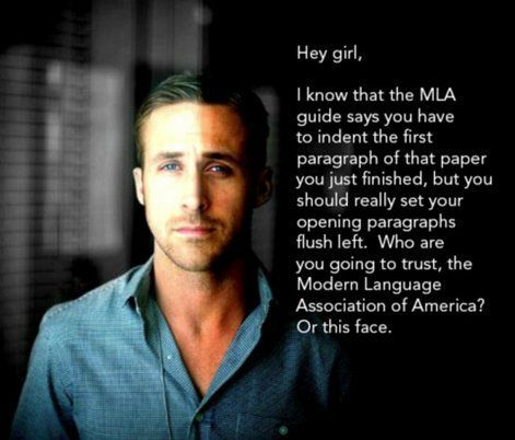 Writing our last argumentative paper of the year - maybe I'll just use his smolder as a supporting paragraph.