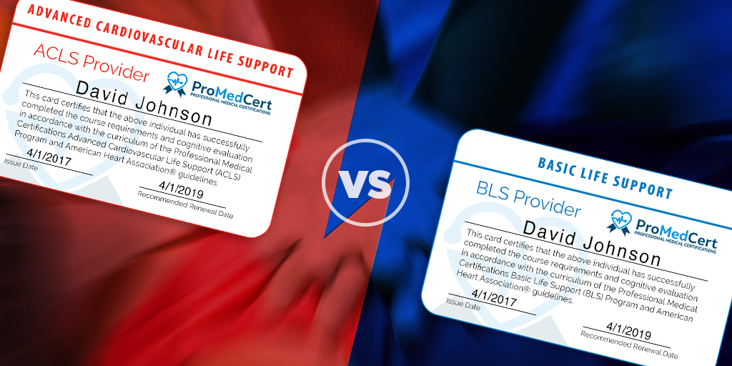 acls vs. bls – what's the difference?