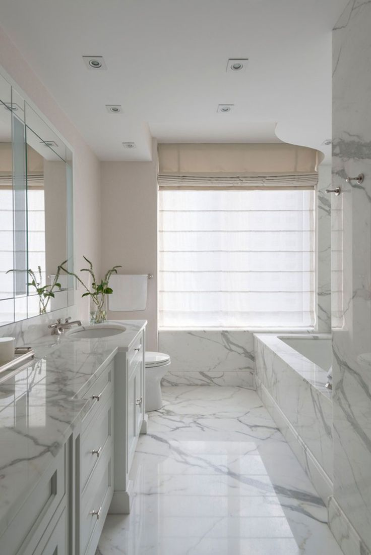 Beautify Houses With Marble Bathroom Design Ideas | Pinterest ...