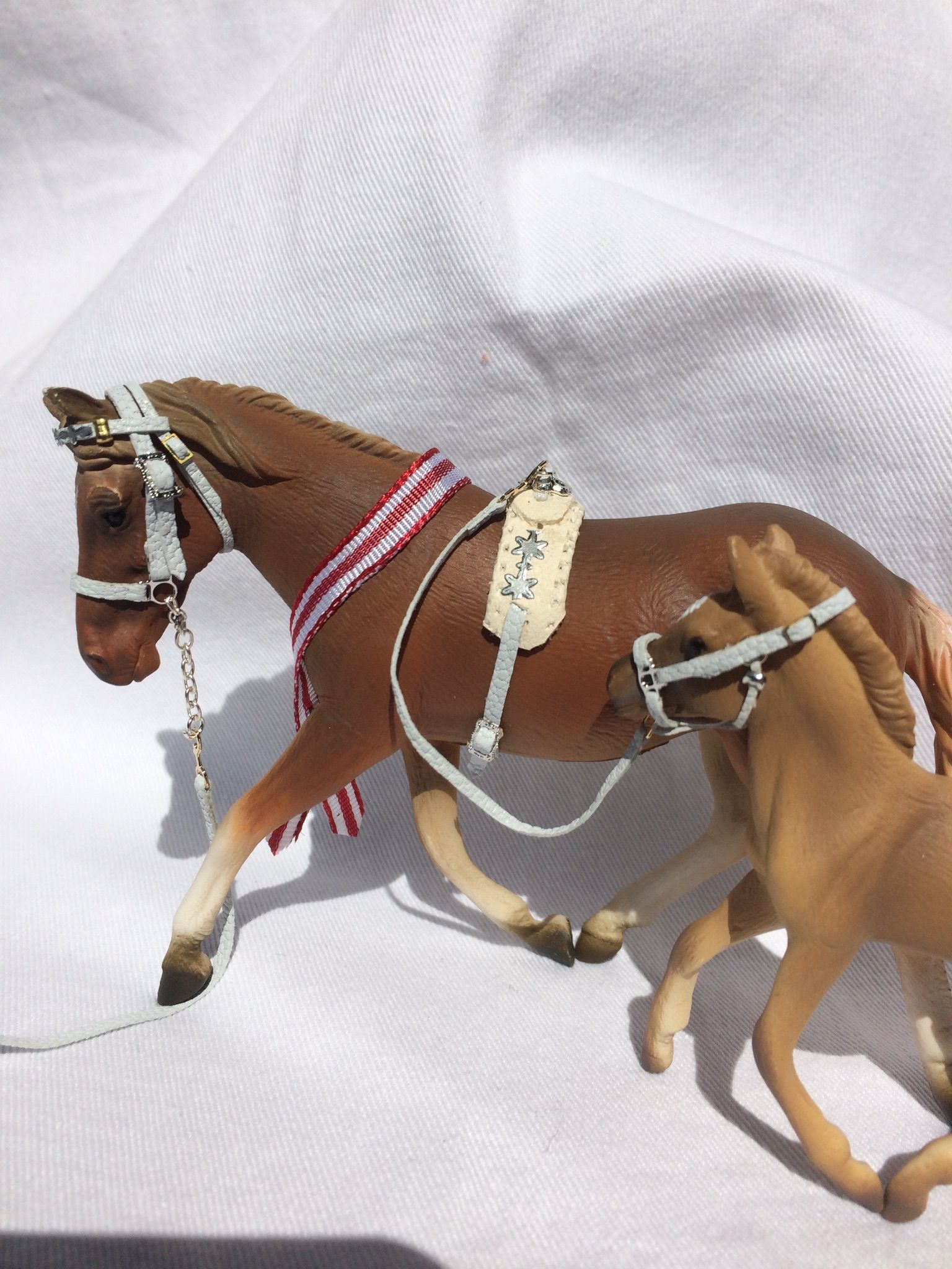 Handmade model horse halter For classic scale foals