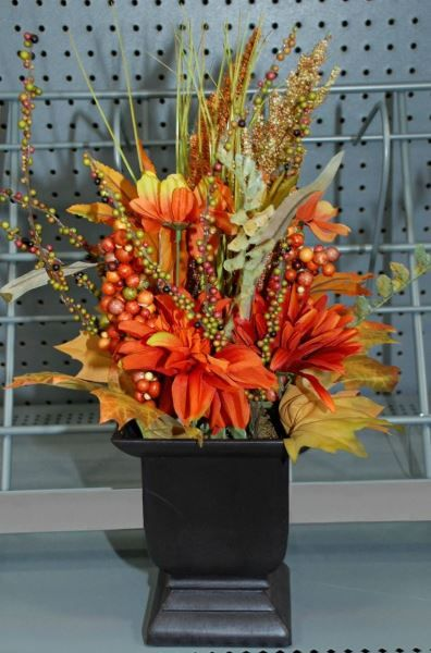 Potted Flowers - Fall