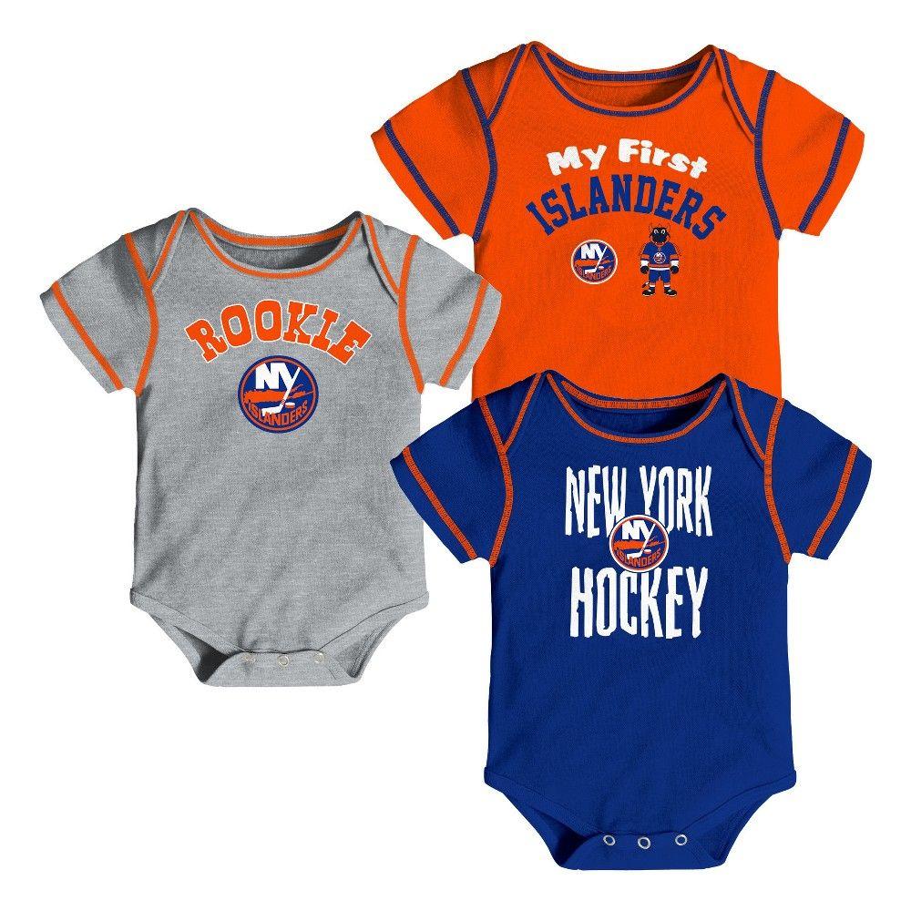 premium selection 499e4 2332b New York Islanders Boys' Game Winner 3pk Body Suit Set 3-6M ...
