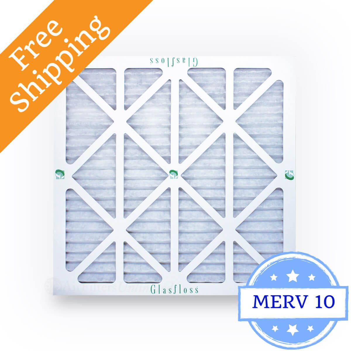Glasfloss pleated filters 12x12x1 4.98 each 1 Case of