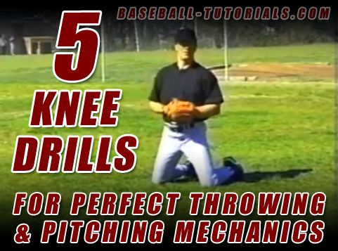 Photo of 5 Knee Drills for perfect throwing & pitching mechanics complete with video demo…