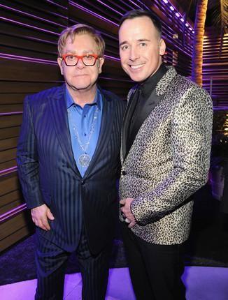 Elton John & David Furnish 2014