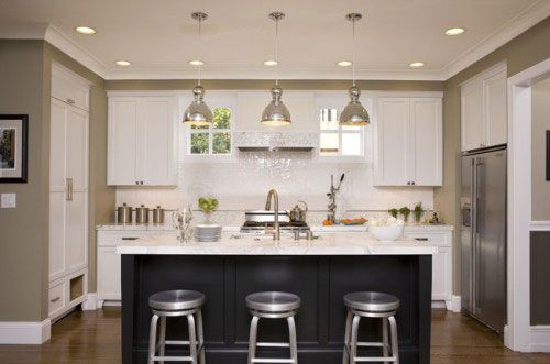 An Oddly Shaped Kitchen Island: Kitchen Design U Shaped With Island Design Inspirations