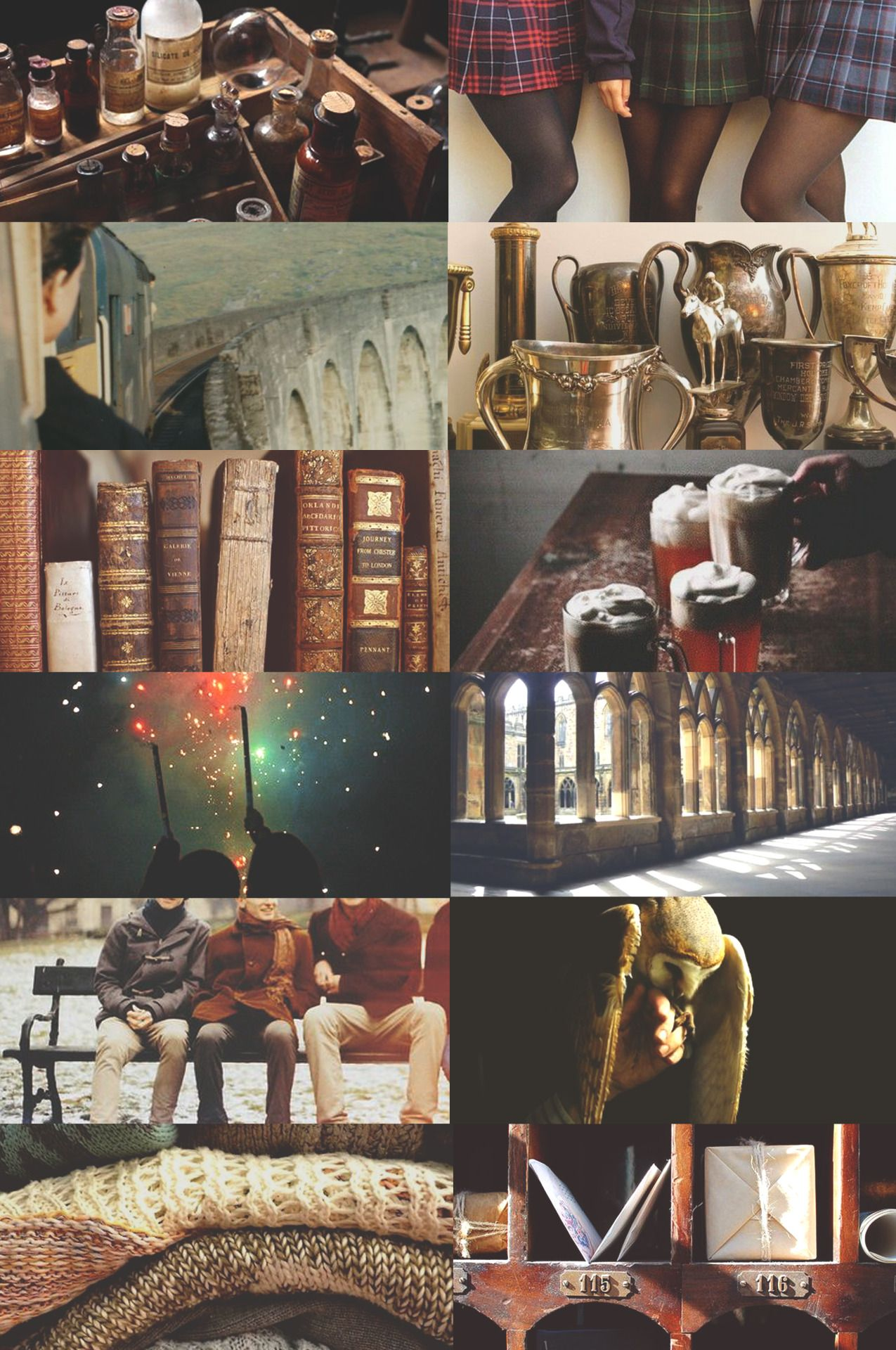 "HP Schools : Hogwarts (photos not mine) """"Hogwarts is my home"" """