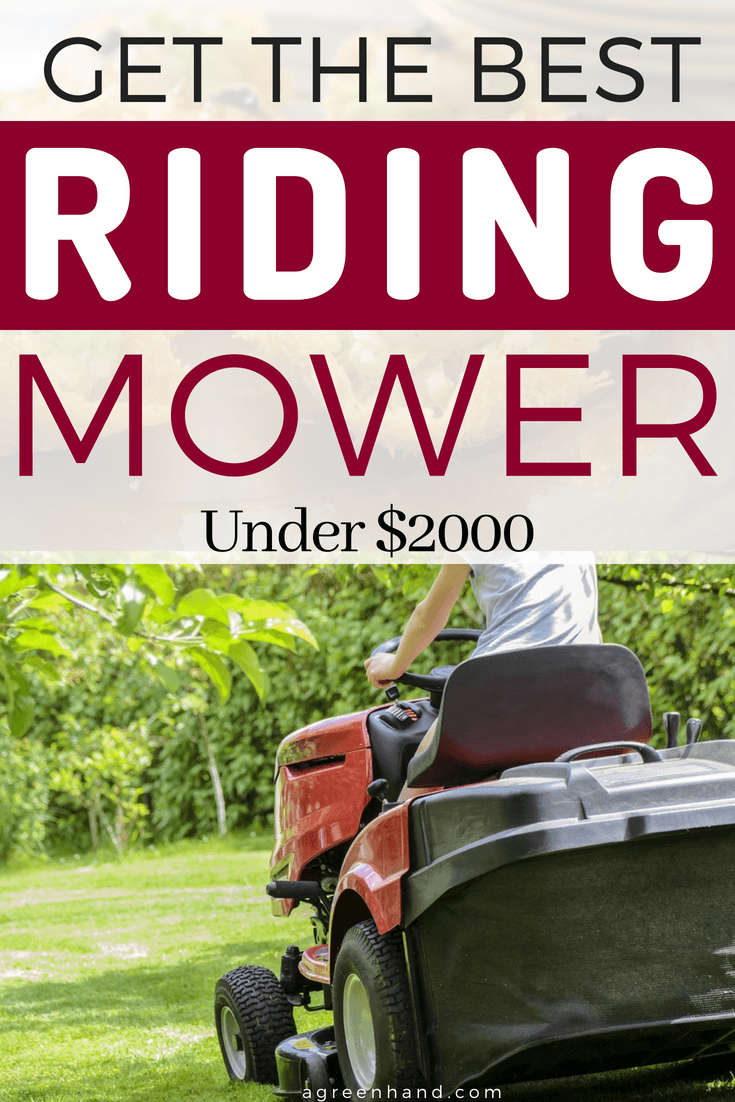 Best Riding Mowers Under 2000 To Buy In 2018 Organic Lawn Care Lawn Maintenance Lawn Sprinklers