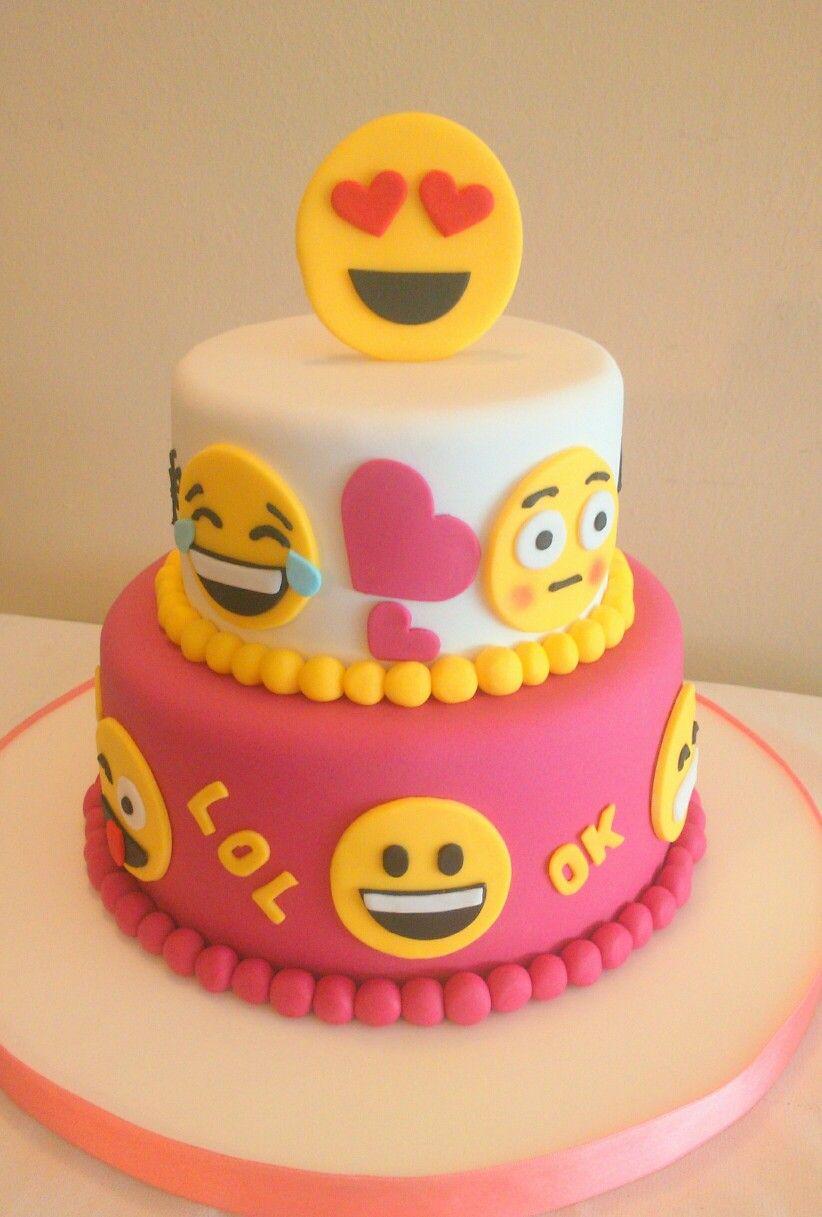Tortas De Emoticones Mis Tortas Pinterest Emoji