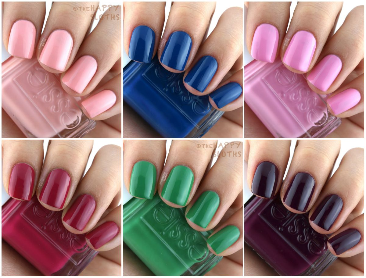 Essie Spring 2017 Collection: Review and Swatches | My beauty wish ...