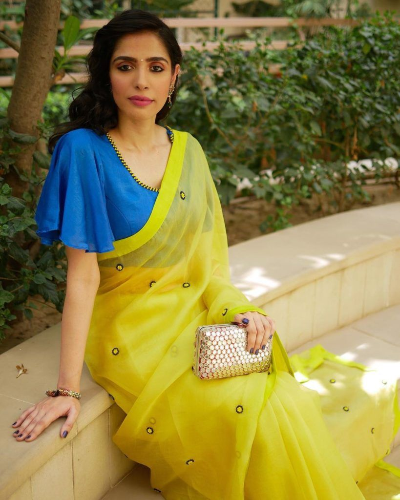 Get Some Cool Saree Styling Tips From This Instagrammer • Keep Me Stylish
