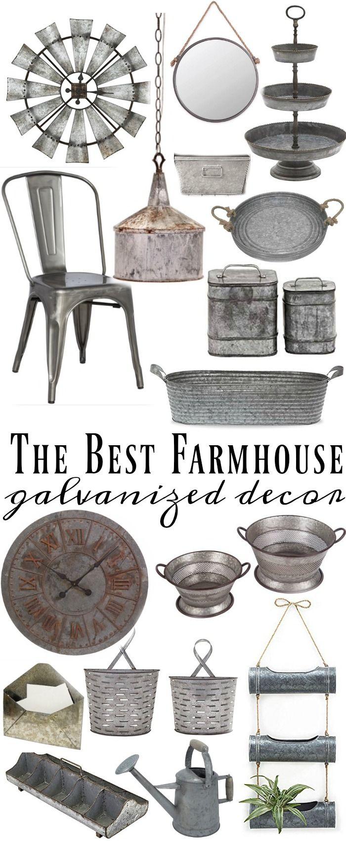 Where To Find The Best Galvanized Home Decor Galvanized Decor
