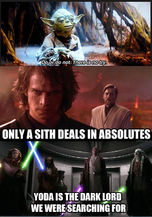 The Yoda Spoiler Star wars memes, Yoda, Star wars