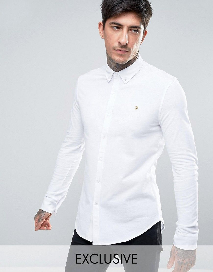 936add69c7f9 Get this Farah's basic shirt now! Click for more details. Worldwide  shipping. Farah