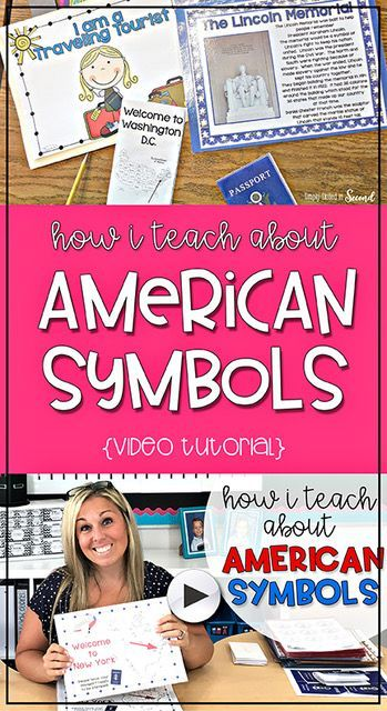 How To Teach About American Symbols Video Tutorial How I Teach