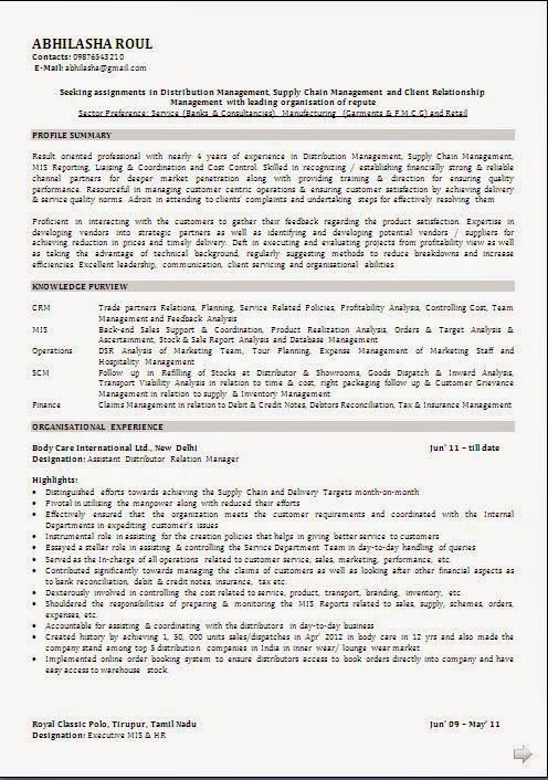 examples of resumes objectives beautiful professional curriculum vitae    cv format with career