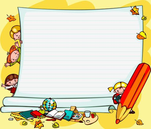 school children's background | page borders | Pinterest ...