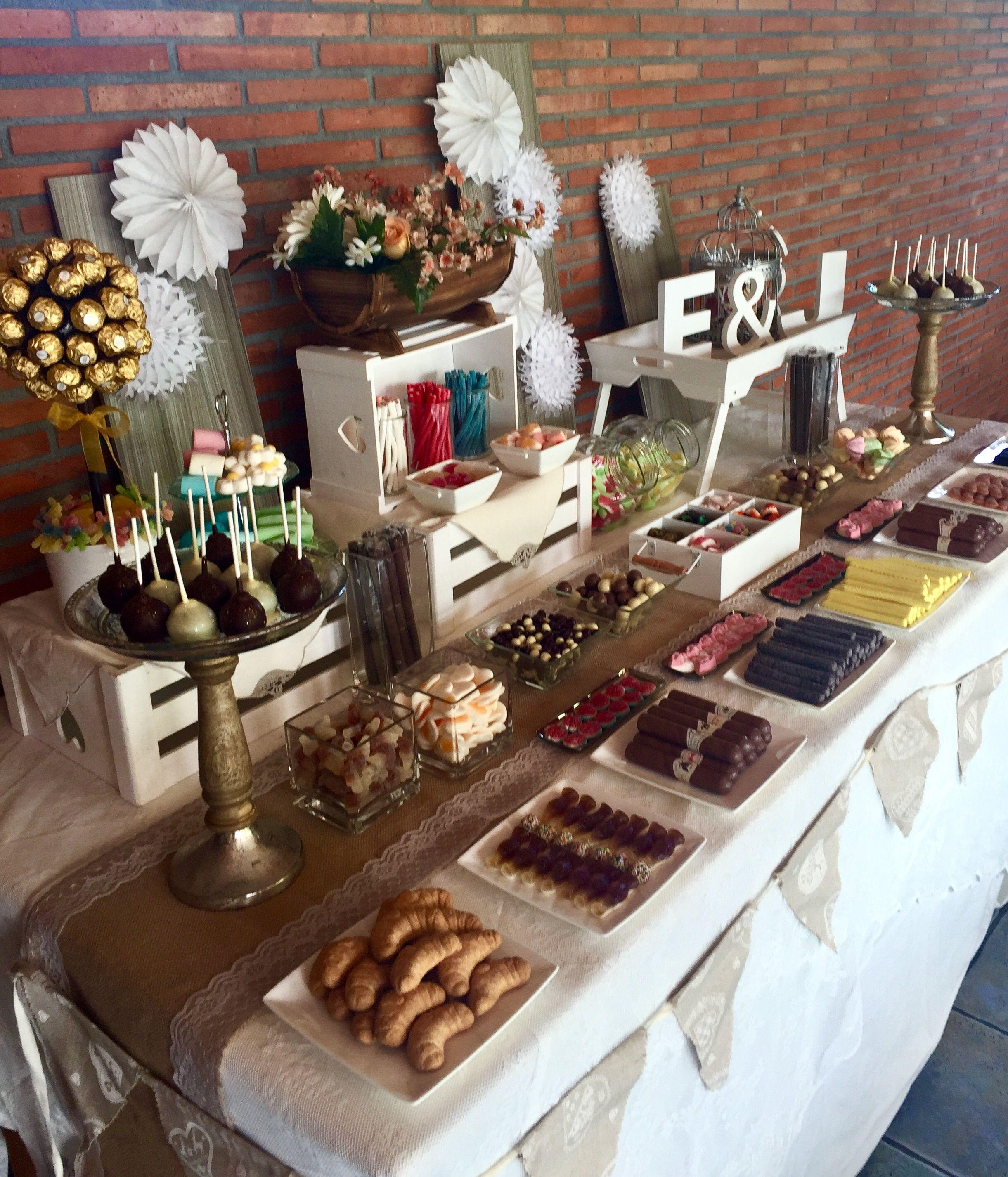Candy bar mesa fiesta hombre adulto deco fiestas - Mesa cumpleanos adulto ...