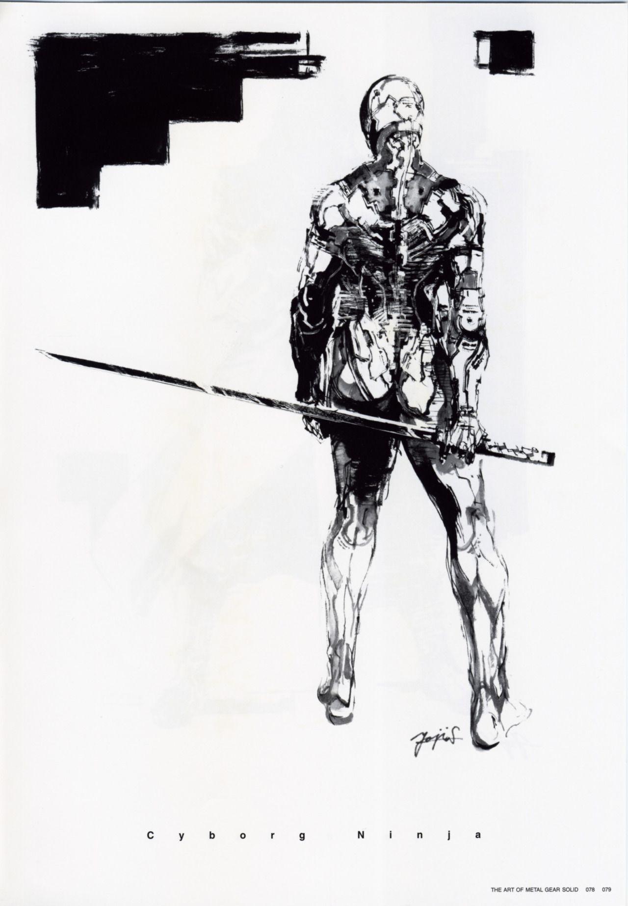 Yoji Shinkawa | Metal Gear Solid | Pinterest | Metal gear, Metal ...