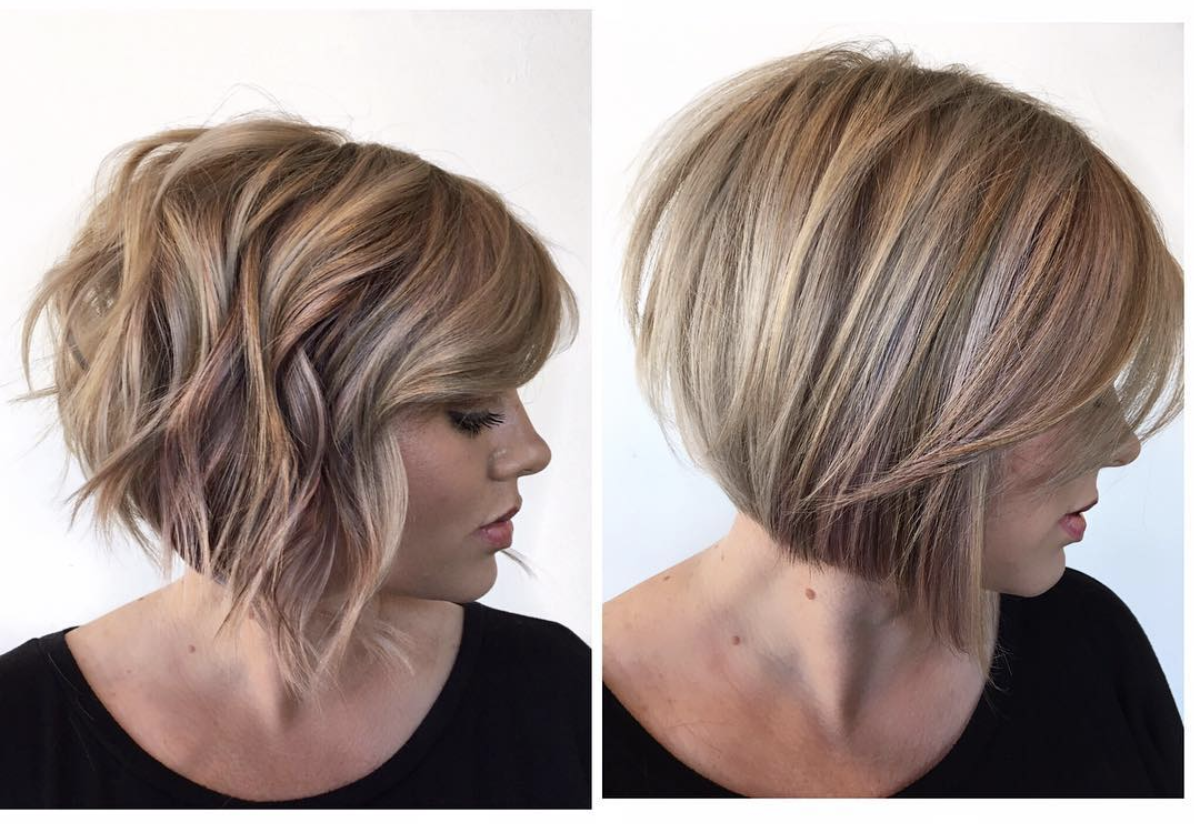 short bob - shorter in back @headrushdesigns | hair in 2019