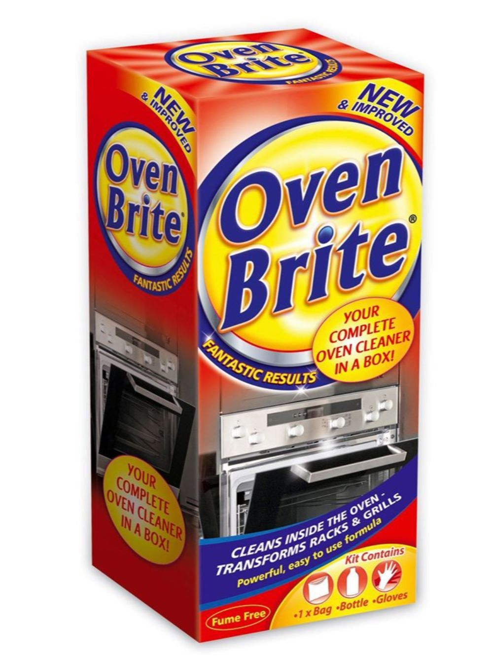 Complete oven cleaner in a box vivamk with lesley in