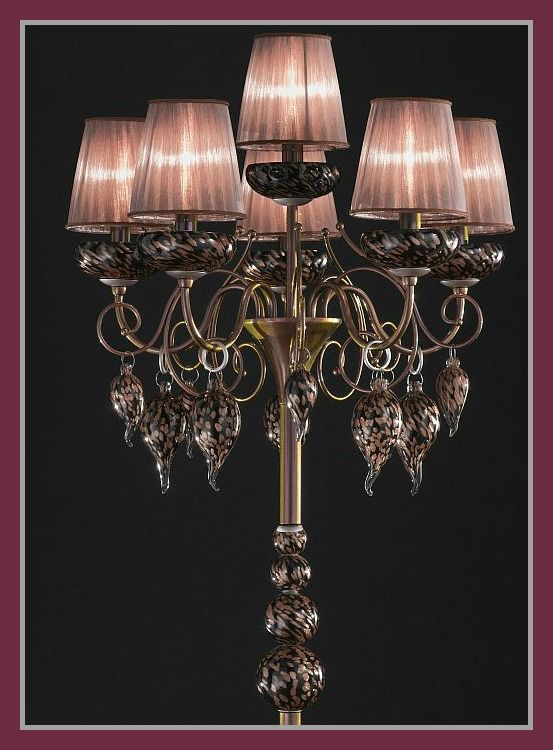 classic royal gala murano glass floor