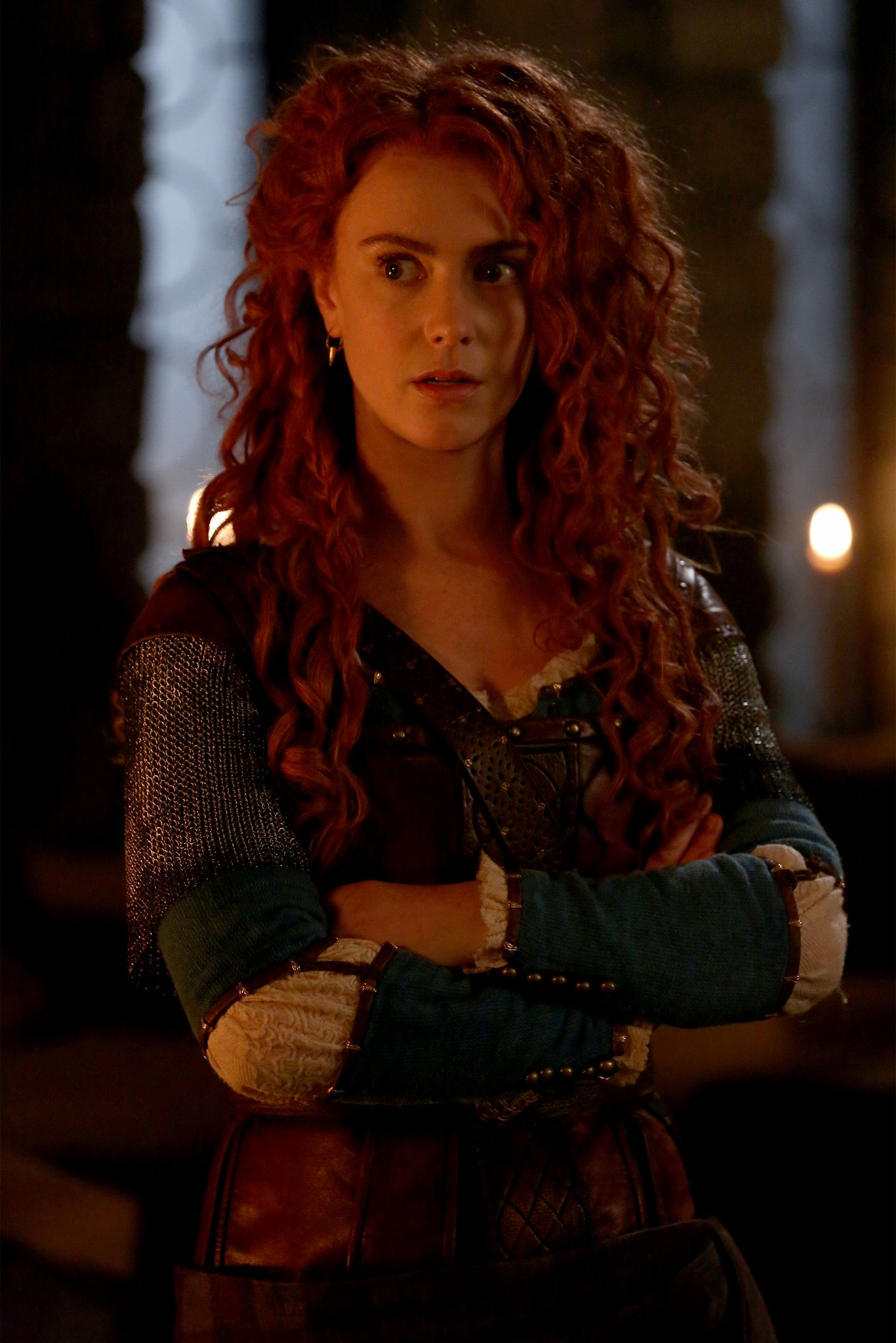 Amy Manson Once Upon A Time once upon a time season 5 photos | once upon a time, merida