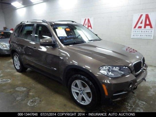 2013 Bmw X5 Www Iaai Mx Bmw Bmw X5 Suv Car