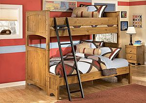 Stages Twin/Full Bunk Bed