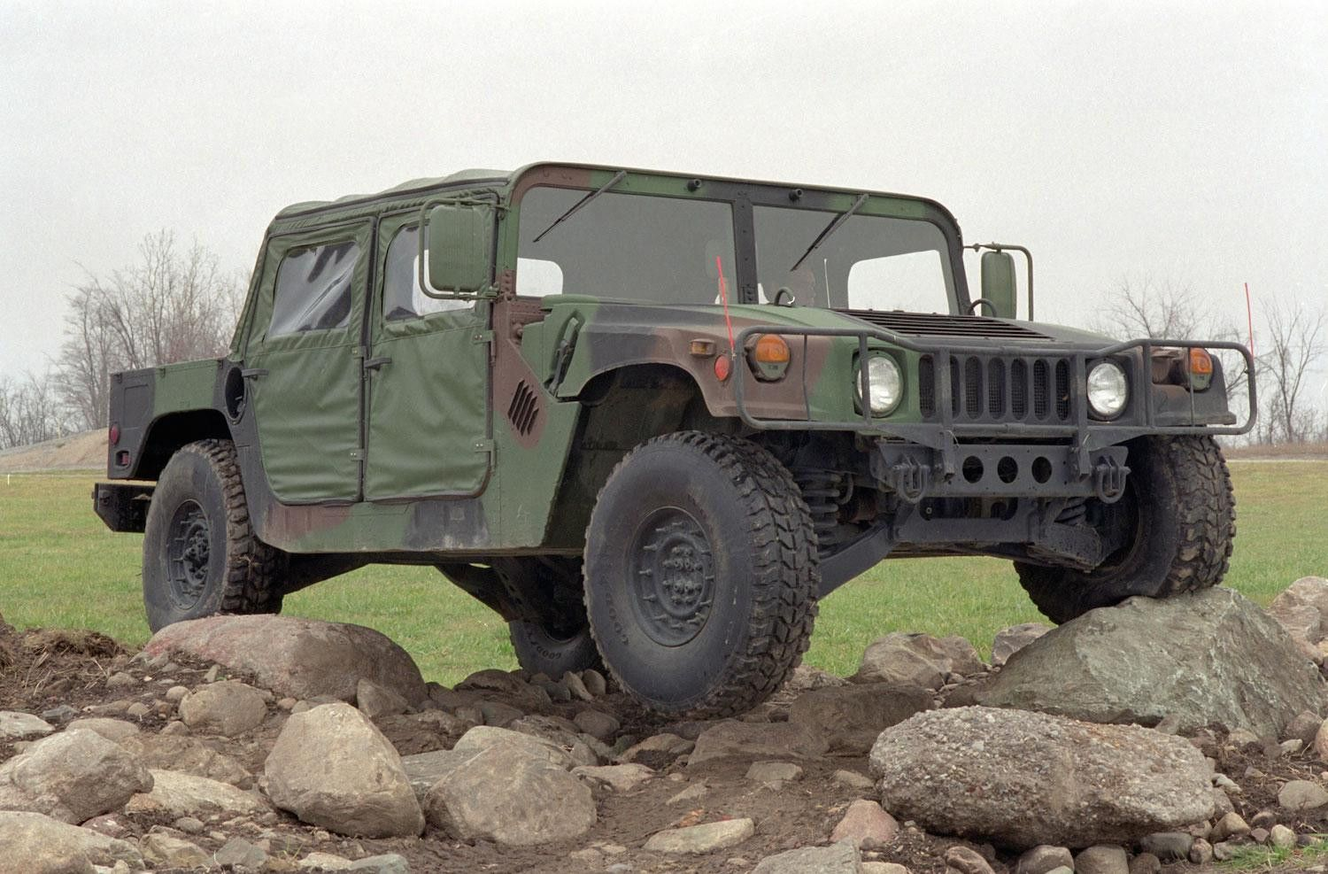 Ex Military Humvee S Approved For Civilian Auction Digital Trends Hummer Military Military Vehicles