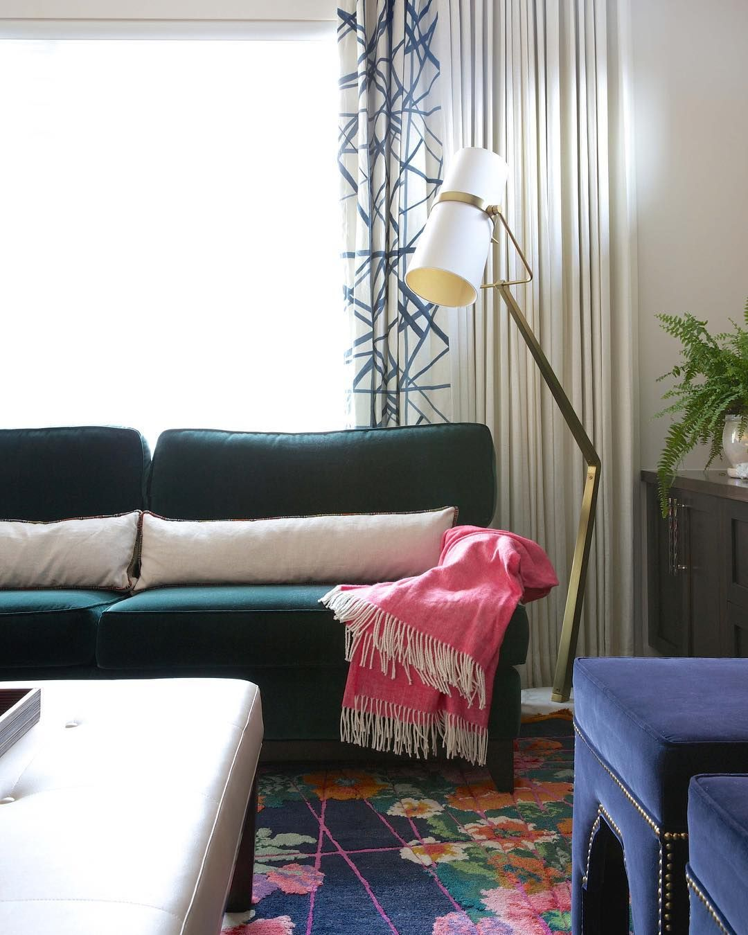 Colourful selections for our clients living room reena sotropa inhouse design group also rh pinterest