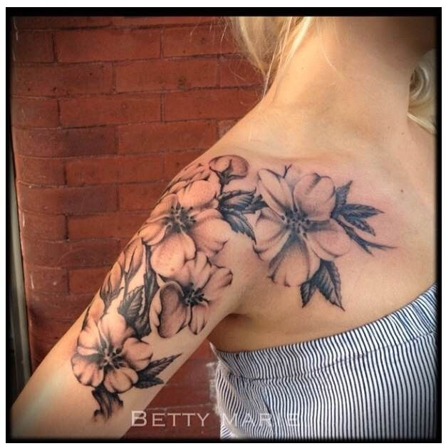 Pin By Jazmin Nichol On Tattoo Piercing Ideas: Tattoo By Betty Marie - Iconportland