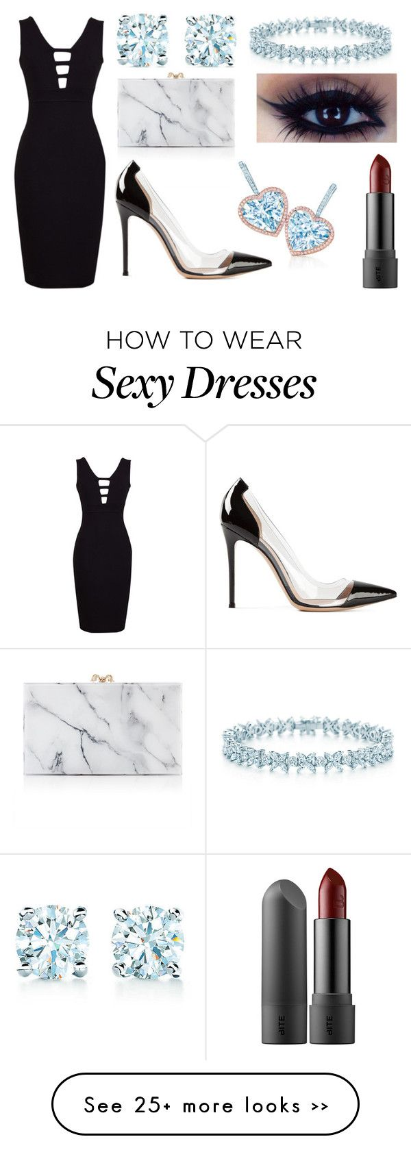 """""""Untitled #1"""" by kenzienicole566 on Polyvore featuring Charlotte Olympia, Tiffany & Co. and Gianvito Rossi"""